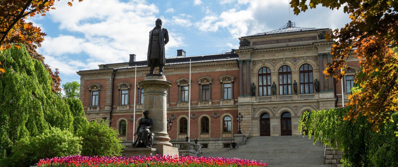 Bild på Universitetshuset, Uppsala